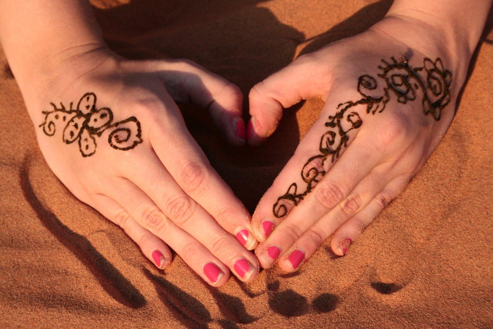 Libro Tatuajes Con Henna Autorquxxo